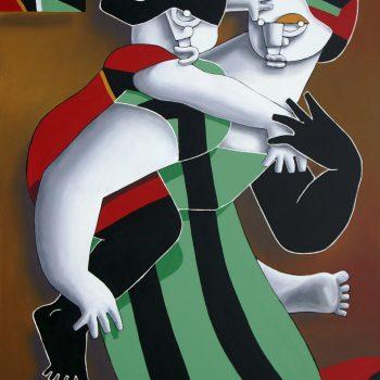 A coscoletas - Manuel Martinez - acrylic painting