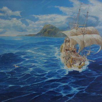 Cape Horn - Václav K. Killer - oil painting