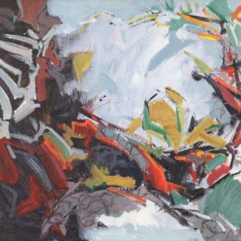 Cirkelgang - Jindřich Bílek - oil painting