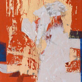 Druhá strana - Ladislav Hodný - combined painting