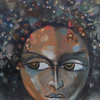 Feeling - Solomon Teshome Jenbere - acrylic painting