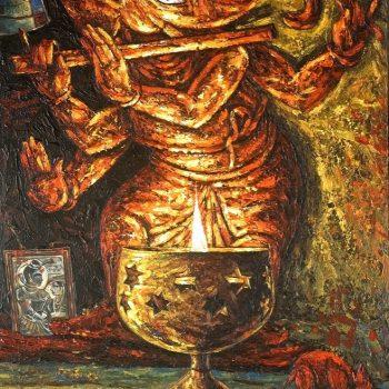 Ganesha - Rajesh Pritam More - combined painting