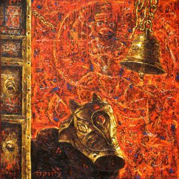 God Hanuman - Rajesh Pritam More - combined painting