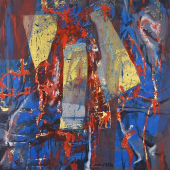 III.Z - Ladislav Hodný - combined painting