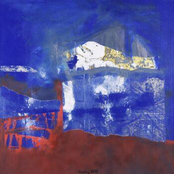 K2- Ladislav Hodný - combined painting