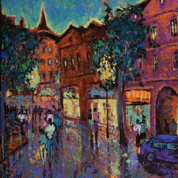 Odraz starých výkladov - Vladimir Domničev - acrylic painting