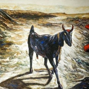 POST OFFICE NO. 786 - Rajesh Pritam More - combined painting