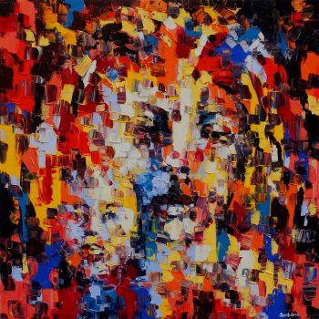 Reflexion - Ebip Serafedino - oil painting