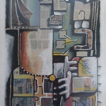 Série 12 >13 - Manuel Martinez - acrylic painting