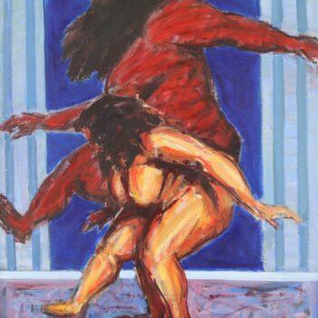 Tanz - Jindřich Bílek - oil painting