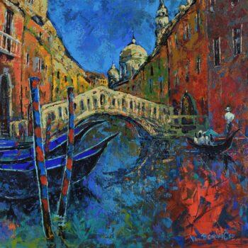 Venice - Vladimir Domničev - acrylic painting