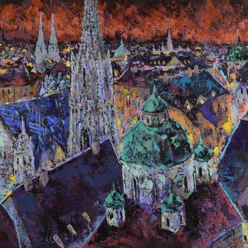 Vienna Expression - Vladimir Domničev - acrylic painting
