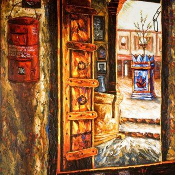 Vrindavan - Rajesh Pritam More - combined painting