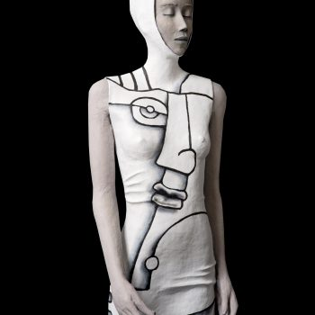 Duet - Michèle Duchene - statue