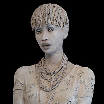 Koé - Michèle Duchene - statue