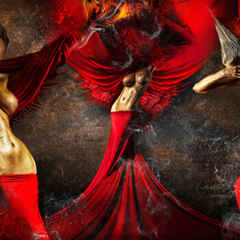 Red – Trilogia - Fedor Nemec - combined photography