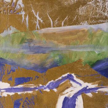 Rozchod - Ladislav Hodný - combined painting