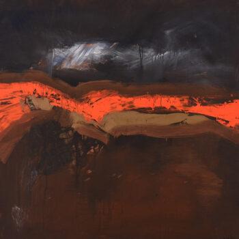 Zakletá krajina - Ladislav Hodný - combined painting
