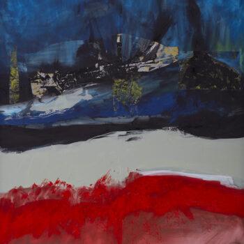 Znovu na cestě - Ladislav Hodný - combined painting