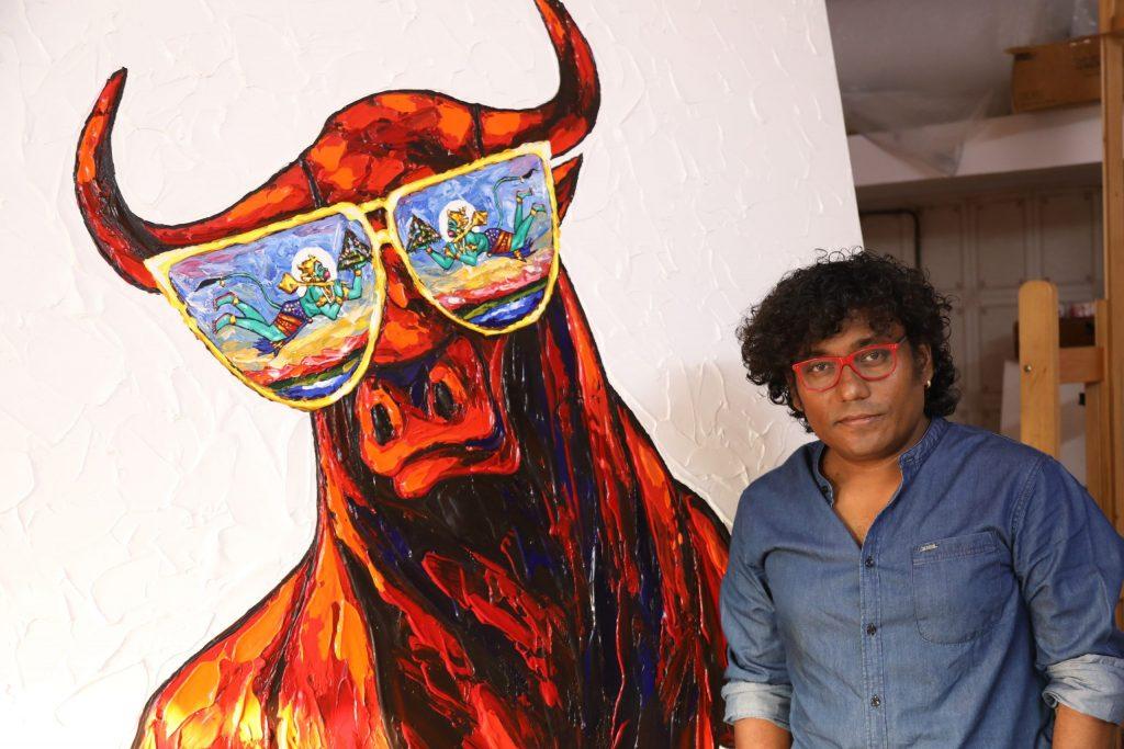 Raj More Indian Painter