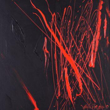 Abstrakce 1. - Josef Valčík - acrylic painting