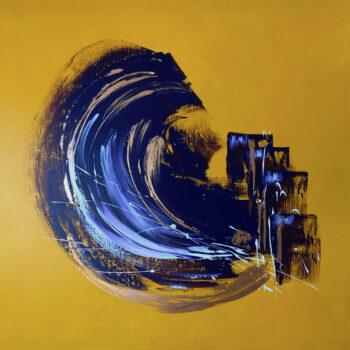 Abstraktion - Klaus Thurner - acrylic painting