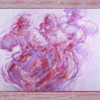 Ako ťa zabudnem - Cyril Uhnák - oil painting