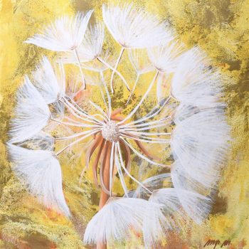 Čo je šťastie - Mária Markus - acrylic painting