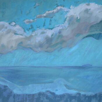 Dalekie archipelagi - Wit Pichurski - acrylic painting