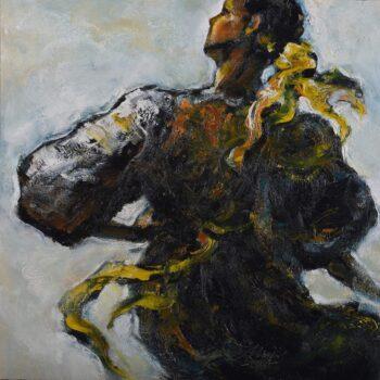 Do kola III. - Cyril Uhnák - oil painting