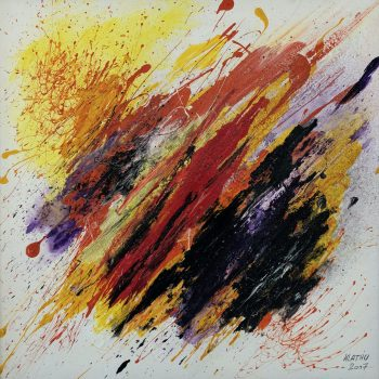 Farben Spiel - Klaus Thurner - acrylic painting
