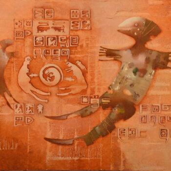 Goyoo - Norbert Judt - combined painting