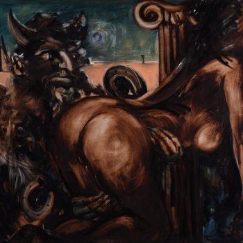 Greek mythology - Zoltán Enzoe Nagy - oil painting
