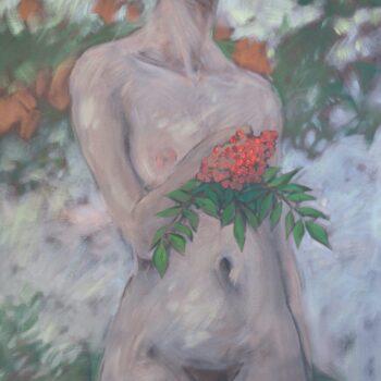 Jarzębina - Wit Pichurski - acrylic painting