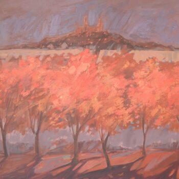 Jesienny ogień - Wit Pichurski - acrylic painting