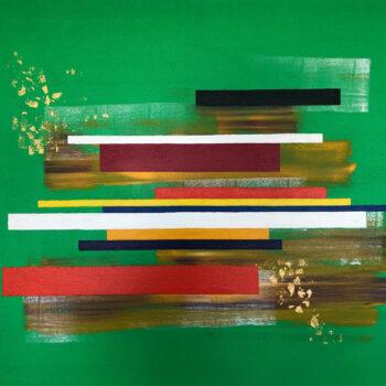 Klare Linien - Klaus Thurner - acrylic painting