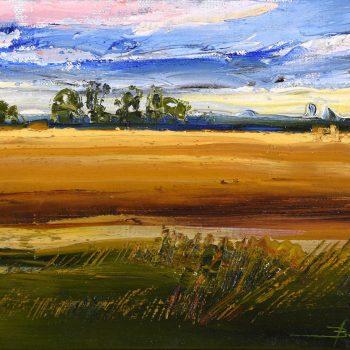 Krajinka 1. - Mykola Bodnar - oil painting