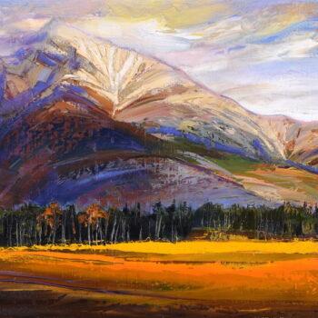 Kriváň - Mykola Bodnar - oil painting