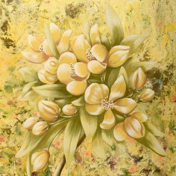 Kytica - Mária Markus - acrylic painting