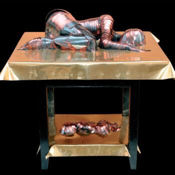 Luxus bez domova - Ivan Patúc - statue