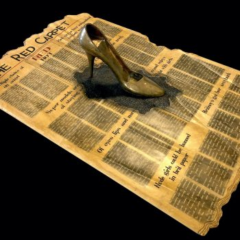 Newspaper and a shoe - Kanta Kishore Moharana