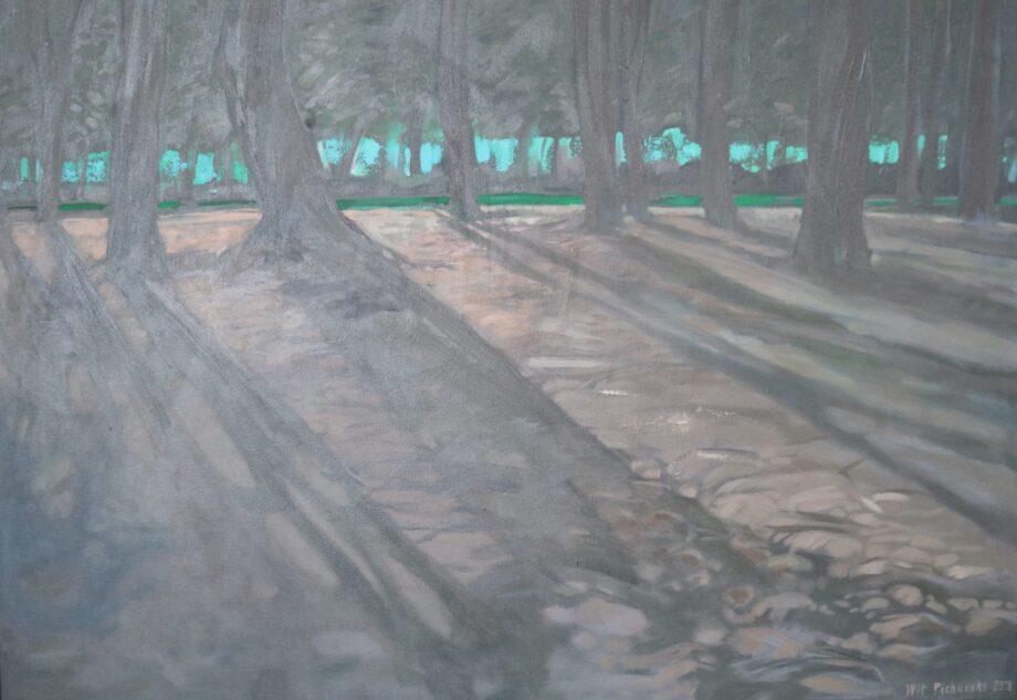 Niedościgły prześwit - Wit Pichurski - acrylic painting