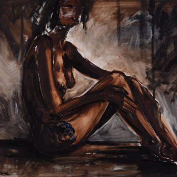 Petra - Zoltán Enzoe Nagy - oil painting