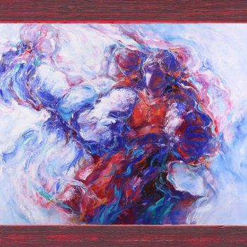 Tak mi zaspievali - Cyril Uhnák - oil painting