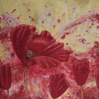 Tanečnica - Mária Markus - acrylic painting