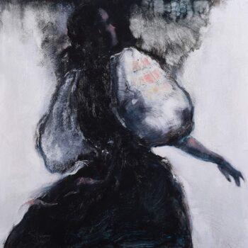 Už je večer I. - Cyril Uhnák - oil painting