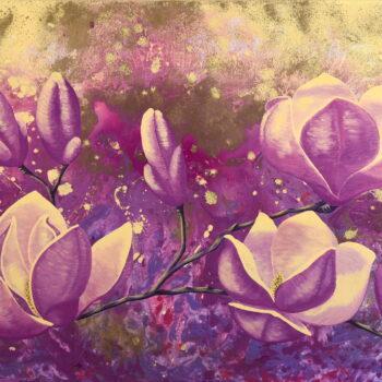 V snení - Mária Markus - acrylic painting
