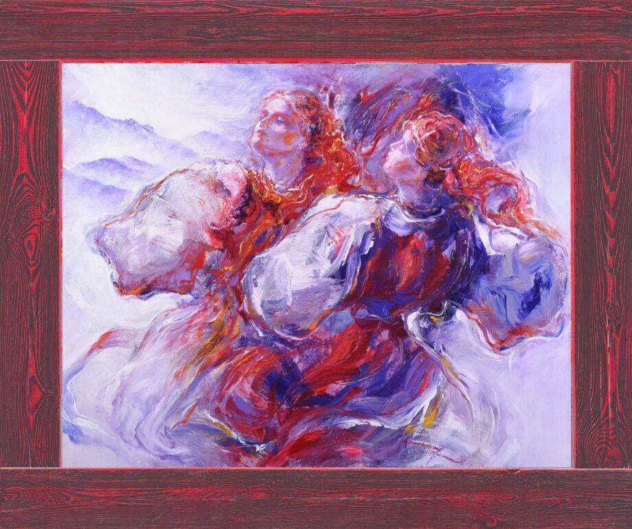 Zapievaj III. - Cyril Uhnák - oil painting