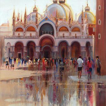 Basilika sv. Marca 3 - Mykola Bodnar - oil painting