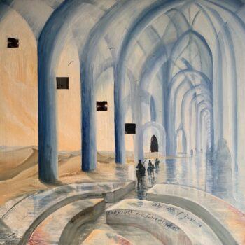 Rückkehr aus dem Labyrinth der Gerechtigkeit - Peter Klonowski - oil painting